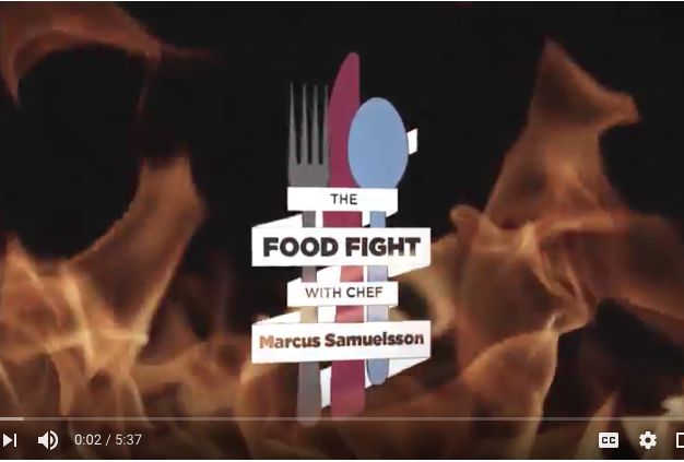 Video: Food fight with Chef Marcus Samuelsson