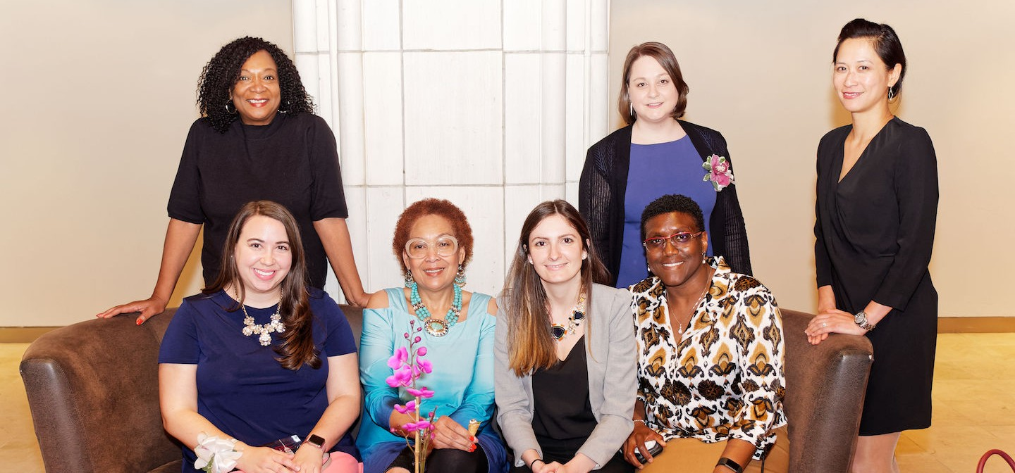 A group of Facilities and Operations women honored with Next Generation of Women Builders awards